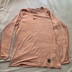 Long Sleeve Nike Combat Pro Warm Up Shirt